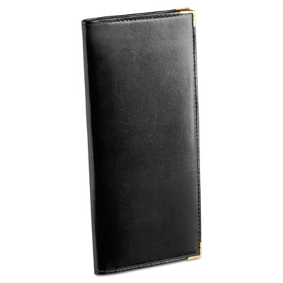 Stitched faux leather business card book holds 96 2 14 x 4 cards black description additional information specifications reheart Images
