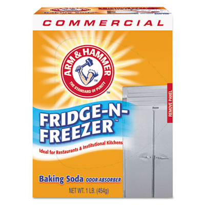 ARM & HAMMER; Baking Soda; Fridge-n-Freezer Pack Baking Soda; Air Fresheners/Odor Eliminators; Deodorizer; Odor Eliminator; Scents; Neutralizers; Fragrances; Smells; Odors; Deoderizers; Deodorizers; CHU8401100